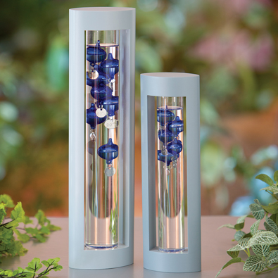 Floating Blue Medium Galileo Thermometer