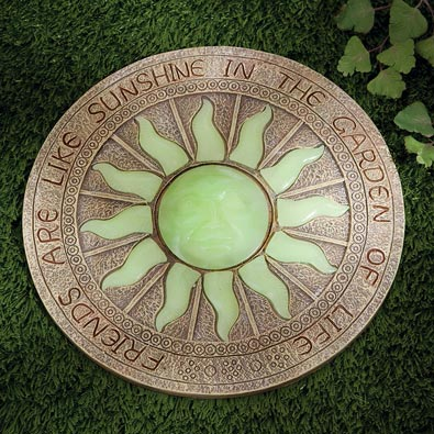 Glow-In-The-Dark Sun Stepping Stone