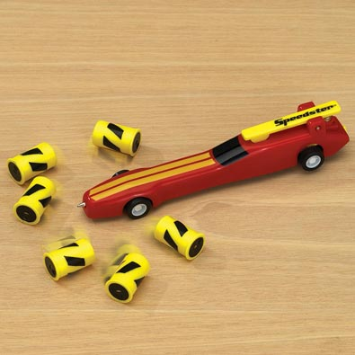 Speedster Pull Back Racing Action Pen