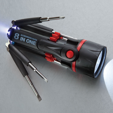 Multibit 8 in 1 Screwdriver