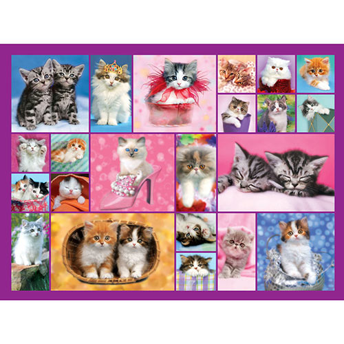 Keith Kimberlin Kittens II 500 Piece Jigsaw Puzzle