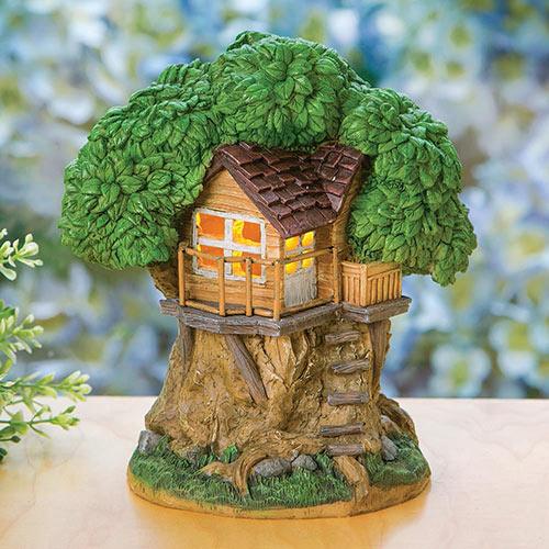 Solar Treehouse Statue
