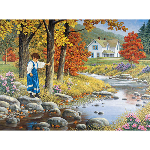 Stepping Stones 1000 Piece Jigsaw Puzzle