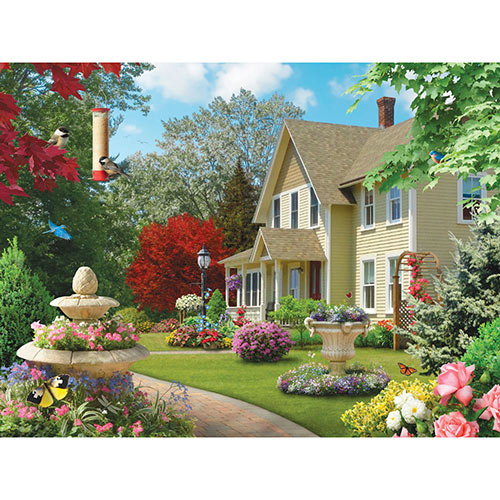 Summer Morning III 300 Large Piece Jigsaw Puzzle