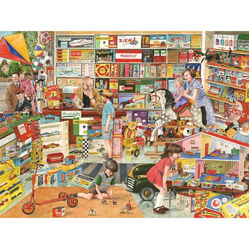 Toy Shop 500 Piece Jigsaw Puzzle