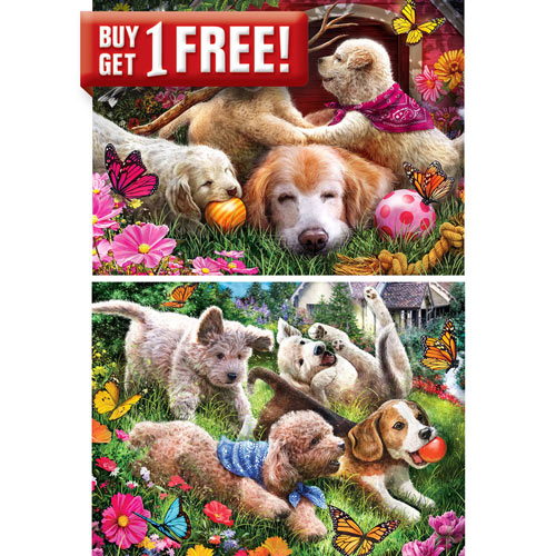 Soap and Perfume Labels 300 Large Piece Jigsaw Puzzle