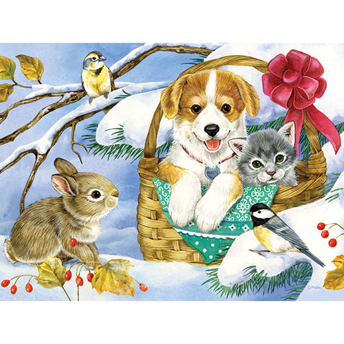 Basket of Love 500 Piece Jigsaw Puzzle