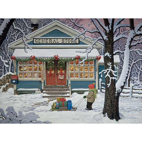 Last Minute Shopper 1000 Piece Jigsaw Puzzle