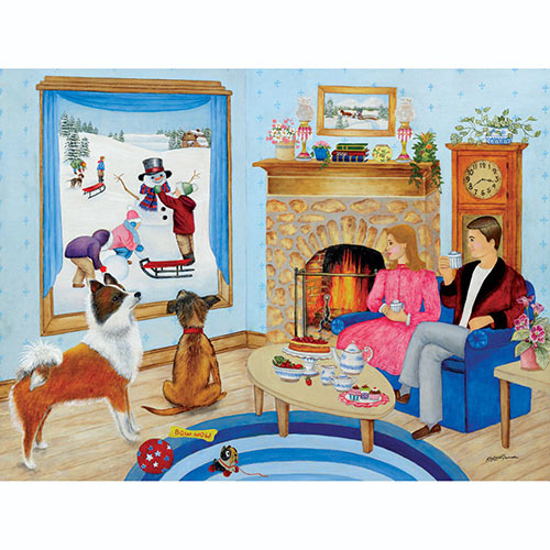 The Perfect Snow Day 500 Piece Jigsaw Puzzle