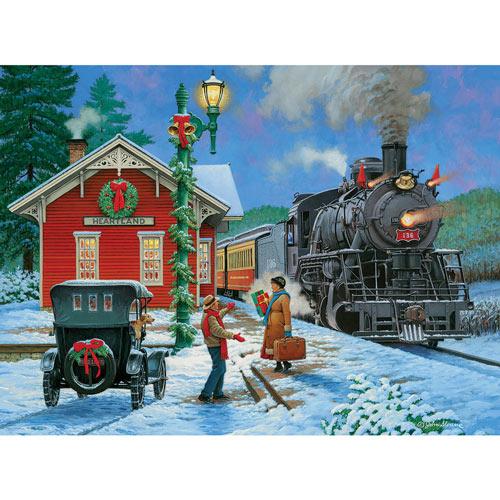 Winter Patchwork 1000 Piece Jigsaw Puzzle