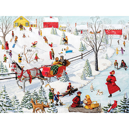 Winter Fun 300 Large Piece Jigsaw Puzzle