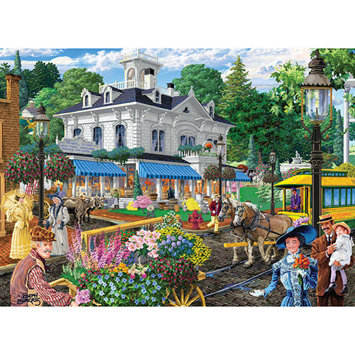 Victorian Spring 500 Piece Jigsaw Puzzle