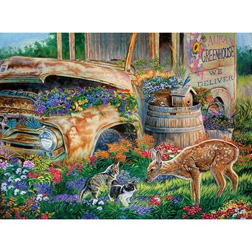 Flower Shop Friends 1000 Piece Jigsaw Puzzle