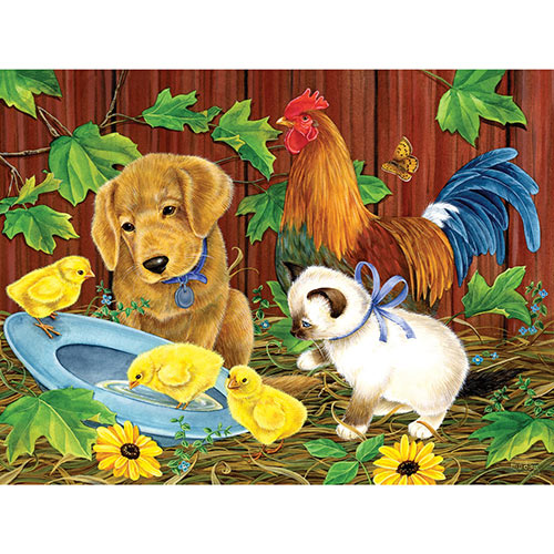 Fun on the Farm 300 Large Piece Jigsaw Puzzle