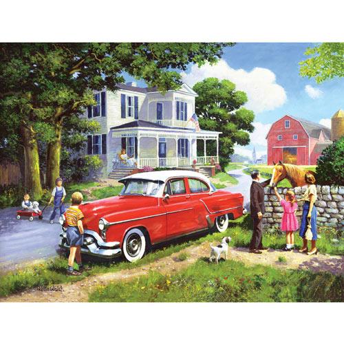 Stone House Garden 1000 Piece Jigsaw Puzzle