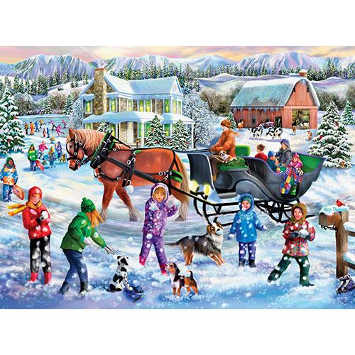 Winter Full of Wonders 1000 Piece Jigsaw Puzzle