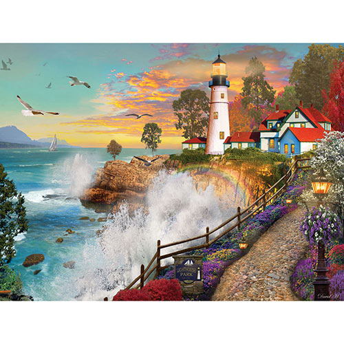Lighthouse Park 1000 Piece Jigsaw Puzzle