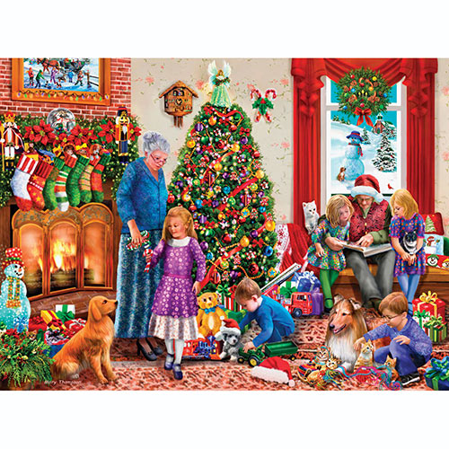 Christmas Memories 1000 Piece Jigsaw Puzzle
