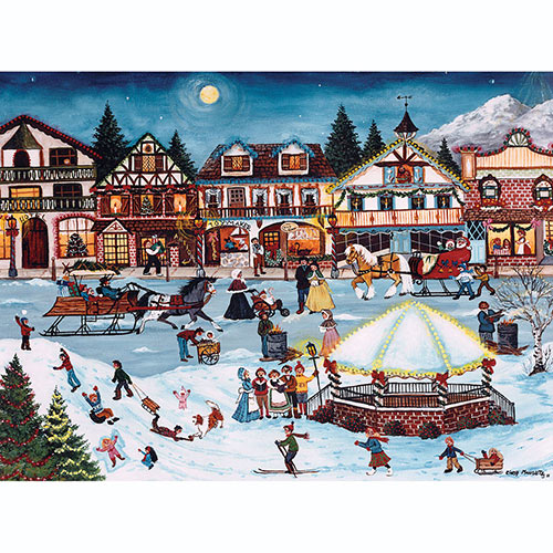 Christmas Village 500 Piece Jigsaw Puzzle