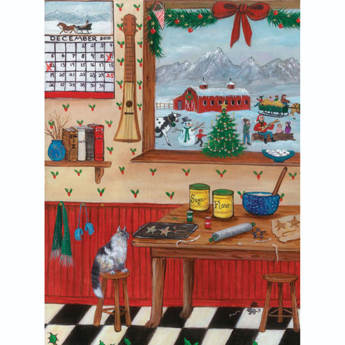 Christmas Treats 500 Piece Jigsaw Puzzle