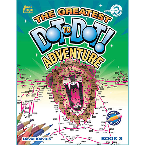The Greatest Dot-to-Dot Adventure Book Vol. 3