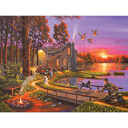An Early Surprise 500 Piece Giant Jigsaw Puzzle