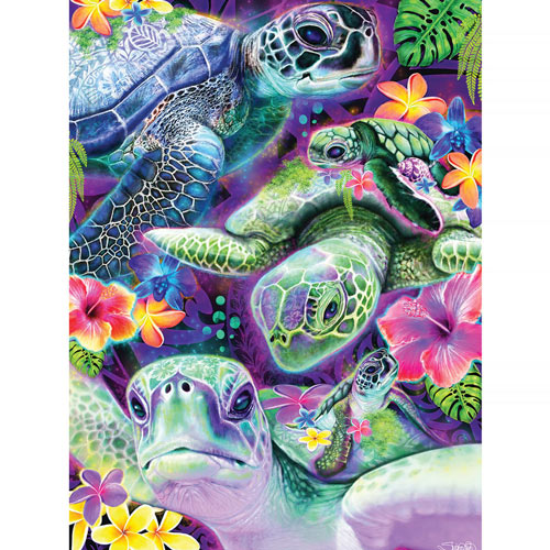 Puppy Preschool 750 Piece Shaped Jigsaw Puzzle