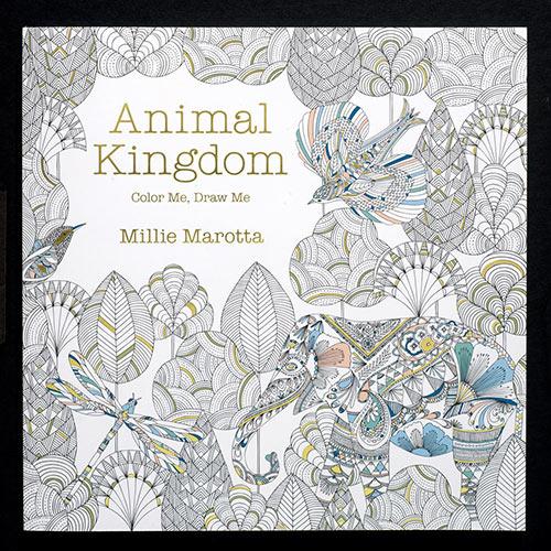 Animal Kingdom Color Book
