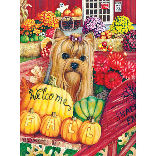 Welcome Fall 1000 Piece Jigsaw Puzzle