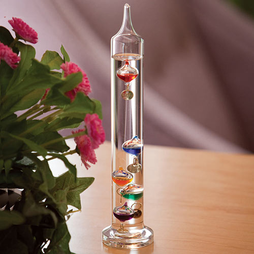 Galileo Thermometer Small 9