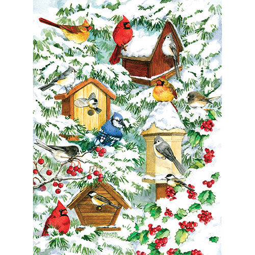 Winter Warmth 1000 Piece Jigsaw Puzzle