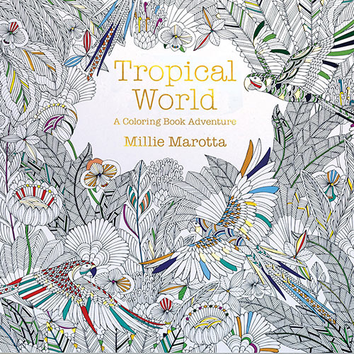 Tropical World Colouring Book