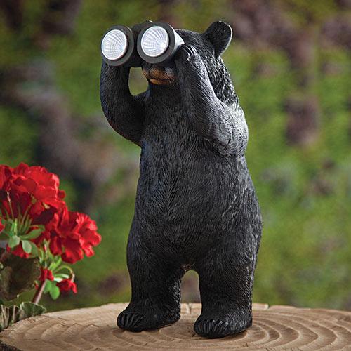 Solar Peek-a-Boo Bear