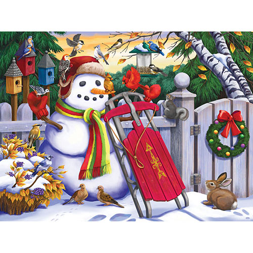 Frosty Friends 500 Piece Jigsaw Puzzle