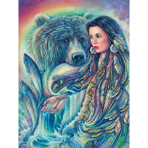 The River Spirit 300 Large Piece Jigsaw Puzzle