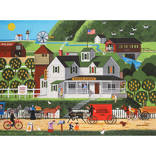 Yummy Farms 1000 Piece Jigsaw Puzzle