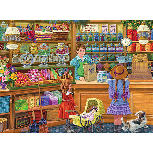 Sweets for the Sweets 500 Piece Jigsaw Puzzle