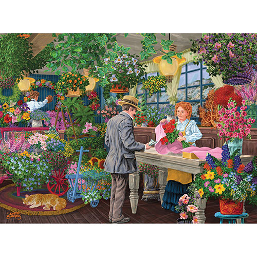 Roses My Sweet 1000 Piece Jigsaw Puzzle