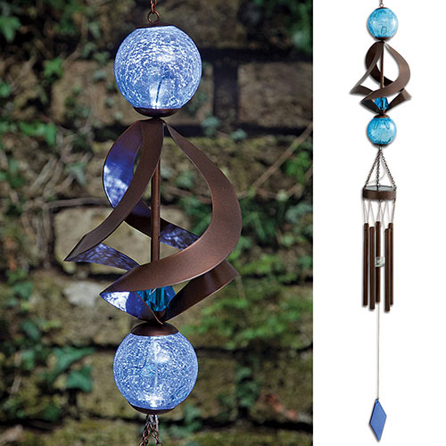 The Ultimate Solar Spinner Chimes