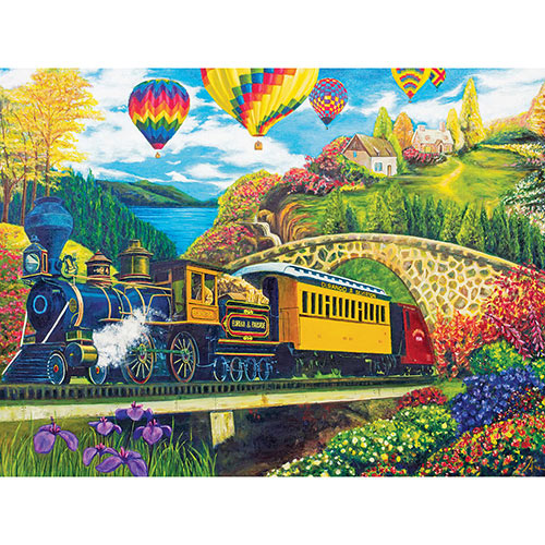 County Express 1000 Piece Jigsaw Puzzle