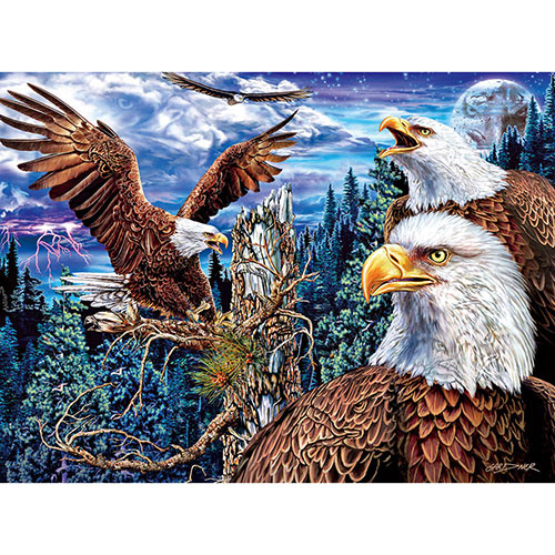 19 Eagles 1000 Piece Jigsaw Puzzle
