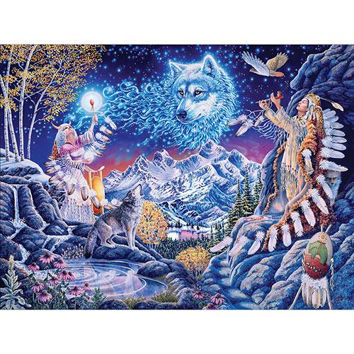 Wolf Spirit 300 Large Piece Jigsaw Puzzle