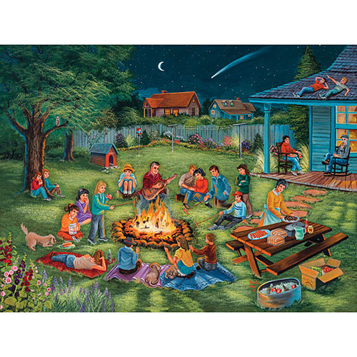 Summertime Memories 300 Large Piece Jigsaw Puzzle
