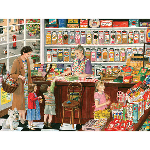 Sweet Shop 300 Large Piece Jigsaw Puzzle