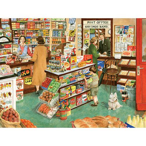 Village Shop 500 Piece Jigsaw Puzzle