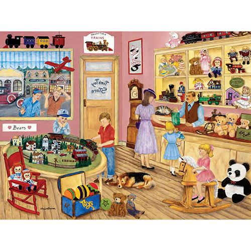 Tim's Toy Store 500 Piece Jigsaw Puzzle