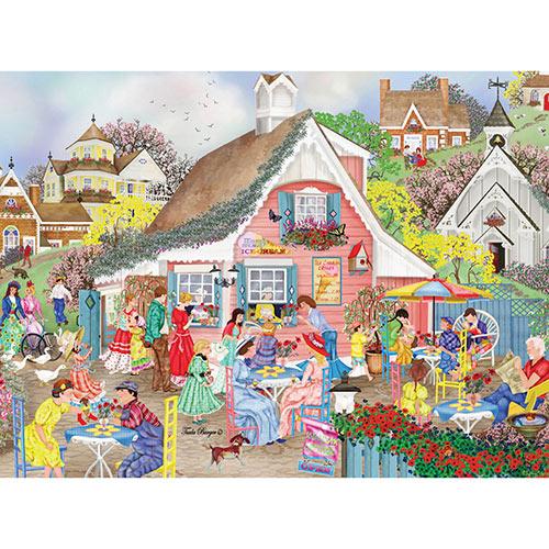 Ice Cream Cottage 300 Large Piece Jigsaw Puzzle