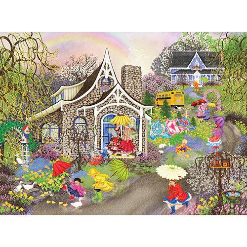 Rainbow Showers 1000 Piece Jigsaw Puzzle