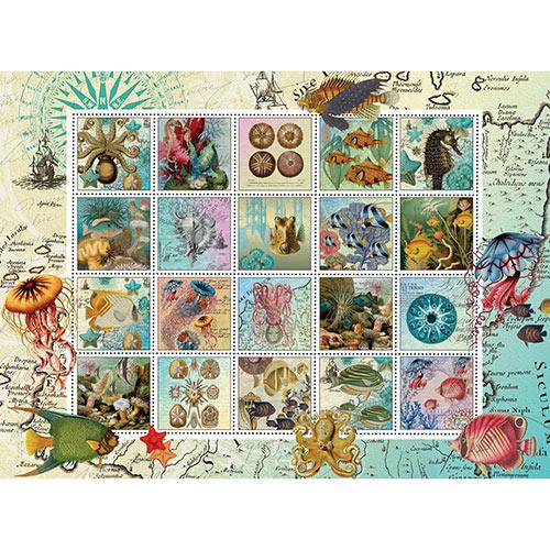 Undersea Garden Quilt 500 Piece Jigsaw Puzzle