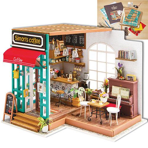 Simon's Coffee Shop Model Kit